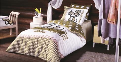 купить Детский набор постельного белья Hello Kitty Дива цена, отзывы