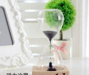 фото 3135  Декоративные стеклянные часы Magnet Hourglass цена, отзывы