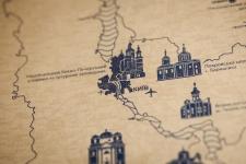 фото 8699  Скретч карта Украины MyNativeMap цена, отзывы