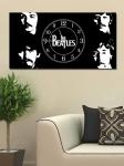 фото 2651  Часы на холсте The Beatles 25х50 цена, отзывы