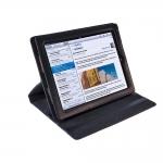 фото 10248  Кожанный чехол для iPad Classic Black цена, отзывы