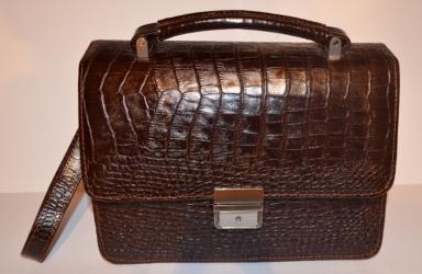 купить Оригинальная мужская сумка из натуральной кожи цена, отзывы