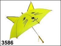 фото 3656  Зонтик детский с ушками в ассортименте цена, отзывы