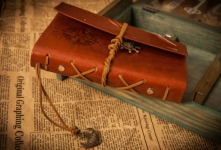 фото 9832  Винтажный блокнот морской тематики цена, отзывы