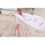 фото 24274  Пляжный коврик Фламинго УЦЕНКА цена, отзывы