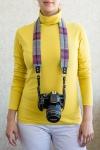 фото 6173  Дизайнерский ремень для фотоаппарата фиолет цена, отзывы