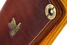 фото 11689  Кошелек Alfa Brown цена, отзывы