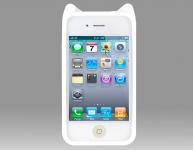 фото 3074  Защитный Чехол Iphone 4,4S Mycomo Котик цена, отзывы
