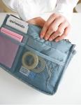 фото 8370  Органайзер Bag in bag maxi голубой цена, отзывы