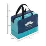фото 23829  Дорожная сумка с отделением для обуви Bonjour Blue цена, отзывы