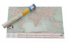 фото 4171  Скретч карта мира в подарочном тубусе (Анг. язык) цена, отзывы