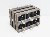 фото 7086  Подставка для вина ящик на 6 бутылок модульный горизонтальный цена, отзывы