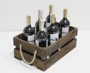 фото 7077  Подставка для вина ящик на 6 бутылок цена, отзывы