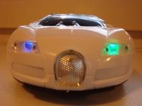 фото 279  Колонка - Машинка Bugatti Veyron (колонка, плеер, радио) цена, отзывы
