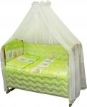 фото 9306  Комплект в детскую кроватку Веселка цена, отзывы