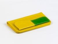 фото 8815  Кошелек Хоской (желтый-зеленый) цена, отзывы