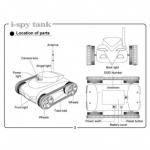 фото 1125  Робот i-Spy Tank (Танк-шпион) с видеокамерой + фото цена, отзывы