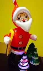 купить Дед мороз надувной 45 см цена, отзывы