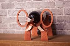 фото 8540  Подставка для бутылки в форме Слона цена, отзывы
