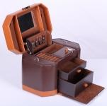 фото 6878  Шкатулка для украшений коричневая изящная цена, отзывы