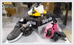фото 726  Ролики на пятку Flashing roller цена, отзывы