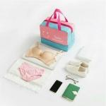 фото 23830  Дорожная сумка с отделением для обуви Bonjour Pink цена, отзывы