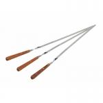 фото 7339  Набор шампуров с деревянными ручками цена, отзывы