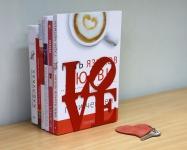 фото 8469  Держатель для книг LOVE цена, отзывы