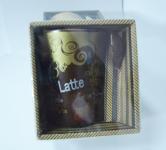 фото 2115  Чашка c ложкой Латте цена, отзывы