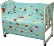 фото 9298  Набор постельного белья в детскую кроватку цена, отзывы