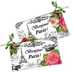 купить Косметичка-кошелек Bonjour Paris! цена, отзывы