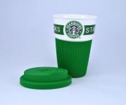 фото 19364  Чашка керамическая кружка Starbucks Green цена, отзывы