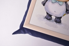 фото 10171  Поднос на подушке Совята цена, отзывы