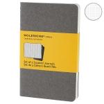 купить 3 блокнота Moleskine Cahier маленьких серых цена, отзывы