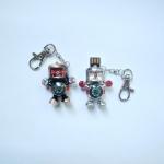 фото 4532  Флешка 8 Gb металл Робот с часами и компасом цена, отзывы