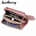 фото 26088   Кошелёк женский, мини-сумочка на плечо Baellerry 3 в 1 (розовый) цена, отзывы