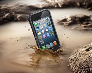 купить Абсолютно водонепроницаемый чехол LifeProof iPhone Case для iPhone 5 цена, отзывы