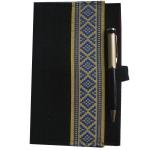 фото 6719  Украинский блокнот желтая с синим вышиванка цена, отзывы