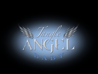 фото 9043  Расческа Tangle Angel Baby White - Turquoise цена, отзывы