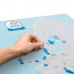 фото 25135  Скретч карта Европы  цена, отзывы