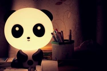 купить Настольный светильник-ночник Панда цена, отзывы