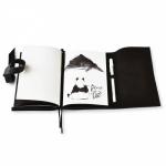 фото 8598  Софт-Бук Панда: черно-белые зарисовки цена, отзывы