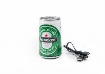 фото 3640  Колонка в стиле пивной банки Heineken цена, отзывы