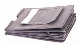 фото 24506  Подвесной Органайзер для вещей на 4 секции (Серый) цена, отзывы