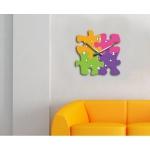 фото 5694  Современные настенные часы Puzzle цена, отзывы