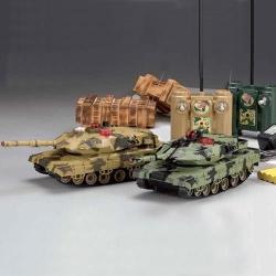 купить Набор танков на радиоуправлении Fighting Tank с записью попаданий цена, отзывы
