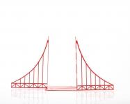 фото 10082  Держатель для книг Мост Золотые ворота цена, отзывы