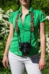 фото 6161  Дизайнерский ремень для фотоаппарата цветочный рай цена, отзывы