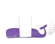фото 10022  Держатель для книг Кит фиолетовый цена, отзывы