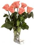 фото 1824  Долгосвежая роза Розовый Кварц в подарочной упаковке (не вянут от 6 месяцев до 5 лет) цена, отзывы